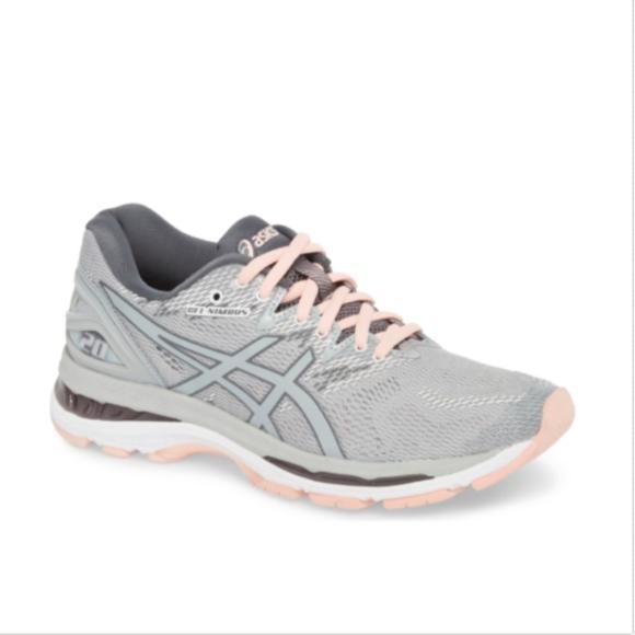 44981eefd118 asics Shoes - Asics GEL Nimbus 20 Running Shoe Grey Blush